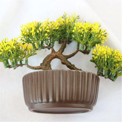 Simulation of Small Pine Bonsai Plastic Flower Fake Flowers Potted Plant Stores Cabinet DecorationArtificial Flowers<br>Simulation of Small Pine Bonsai Plastic Flower Fake Flowers Potted Plant Stores Cabinet Decoration<br><br>Color: Red,Green,Purple,Yellow<br>Display Space: Tabletop Flower<br>Floral Type: Others<br>Flower Materials: Plastic<br>Package Contents: 1 x Small pine trees<br>Package size (L x W x H): 13.50 x 7.00 x 15.00 cm / 5.31 x 2.76 x 5.91 inches<br>Package weight: 22.0000 kg<br>Shape: Ball<br>Style: Simple Style, Casual