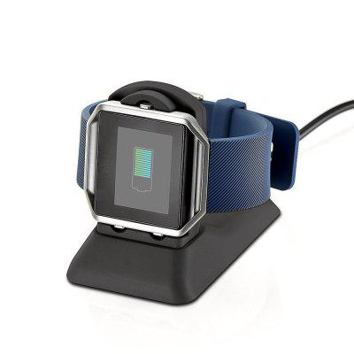 Dock Station Cradle Holder Charging Clip Premium Plastic Bracket Cable for Fitbit Blaze Smart Watch