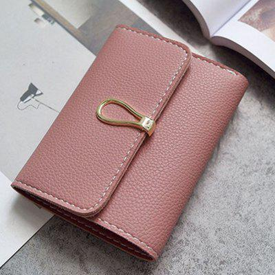 Fashion Minimalist Wild Mini WalletWallets<br>Fashion Minimalist Wild Mini Wallet<br><br>Closure Type: Hasp<br>Gender: For Women<br>Height: 9<br>Length(CM): 12<br>Main Material: PU<br>Package Contents: 1 x Bag<br>Package size (L x W x H): 14.00 x 5.00 x 13.00 cm / 5.51 x 1.97 x 5.12 inches<br>Package weight: 0.1300 kg<br>Pattern Type: Solid<br>Product weight: 0.1100 kg<br>Style: Fashion<br>Wallets Type: Mini Wallets<br>Width: 9