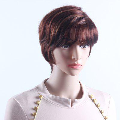 Short Wavy Mix Brown Wigs for Women Pixie Cut Heat Resistant Synthetic Hair Wigs SW0125Synthetic Wigs<br>Short Wavy Mix Brown Wigs for Women Pixie Cut Heat Resistant Synthetic Hair Wigs SW0125<br><br>Advantage: Very Soft and Fashionable<br>Bang Type: See-through Bang<br>Can Be Permed: Yes<br>Cap Construction: Capless<br>Cap Size: Adjustable<br>Gender: Female<br>Lace Wigs Type: None Lace Wigs<br>Length: Short<br>Material: Synthetic Hair<br>Net Type: Elastic Net<br>Package Contents: 1 x Mix Brown Short Wavy Wigs<br>Package size (L x W x H): 26.00 x 17.00 x 5.00 cm / 10.24 x 6.69 x 1.97 inches<br>Package weight: 0.2000 kg<br>Style: Water Wave<br>Type: Full Wigs