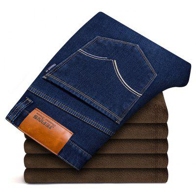 MenS Black Fleece Lined Skinny Winter Slim Fit Thicken Warm Stretch Jeans for MenPlus Size Bottoms<br>MenS Black Fleece Lined Skinny Winter Slim Fit Thicken Warm Stretch Jeans for Men<br><br>Closure Type: Zipper Fly<br>Fabric Type: Canvas<br>Fit Type: Straight<br>Front Style: Flat<br>Material: Cotton<br>Package Contents: 1xJeans<br>Pant Length: Long Pants<br>Pant Style: Straight<br>Style: Casual<br>Waist Type: Mid<br>Weight: 0.5000kg
