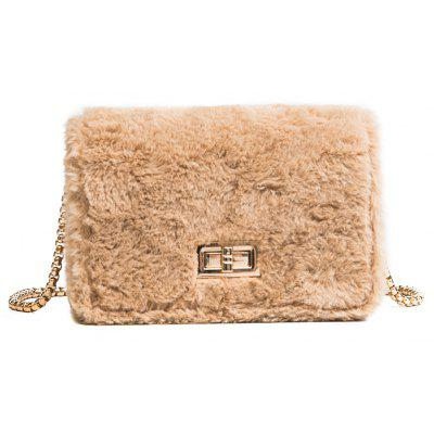 Fluffy Lovely Fluffy Shoulder Messenger Bag Cadena