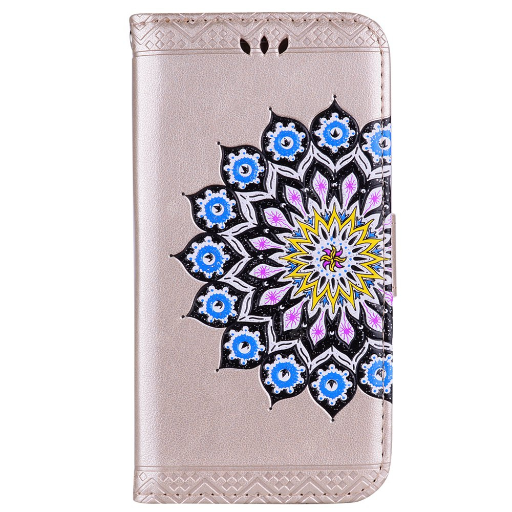 For Samsung Galaxy J3 2017 US Version of the Flash Powder Mandala Cover Covers the Shell