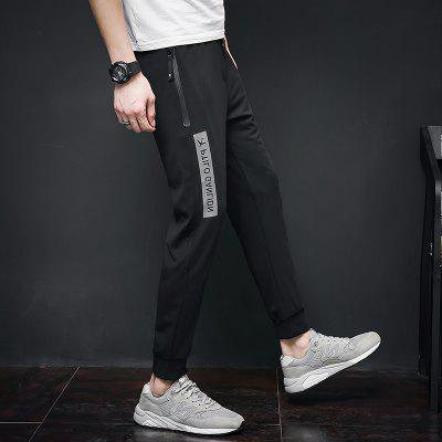 MenS Pants Letter Printing Sports Casual PantsMens Pants<br>MenS Pants Letter Printing Sports Casual Pants<br><br>Closure Type: Elastic Waist<br>Elasticity: Micro-elastic<br>Fabric Type: Herringbone<br>Fit Type: Skinny<br>Length: Normal<br>Material: Polyester, Spandex<br>Package Contents: 1 x pants<br>Package size (L x W x H): 1.00 x 1.00 x 1.00 cm / 0.39 x 0.39 x 0.39 inches<br>Package weight: 0.3000 kg<br>Pant Style: Pencil Pants<br>Pattern Type: Letter<br>Style: Casual<br>Waist Type: Mid