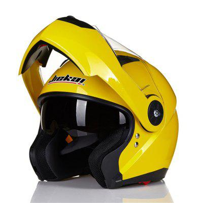 Paclight 115 DOT Certified Double Lens Motorcycle Helmet Helmet Exposing The Surface of Removable Liners Used in Four Se