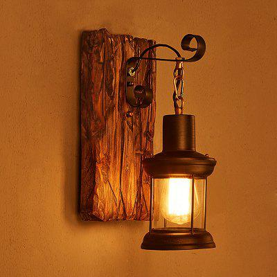 Sinlg Head Loft Wall Light Downlight Wall Sconces E26 E27 Rustic/Lodge Vintage Traditional/Classic Country Painting