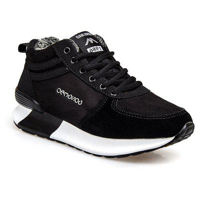 New Warm Middle-Aged and Velvet Sports Shoes