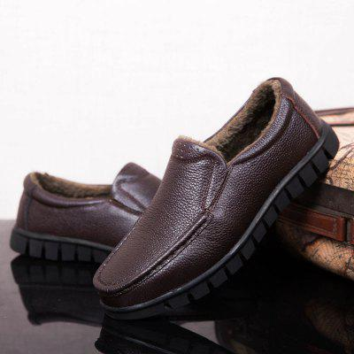 New Plus Size Cotton Plus Leather Middle-Aged Leather ShoesCasual Shoes<br>New Plus Size Cotton Plus Leather Middle-Aged Leather Shoes<br><br>Available Size: 37-47<br>Closure Type: Slip-On<br>Embellishment: None<br>Gender: For Men<br>Outsole Material: Rubber<br>Package Contents: 1xshoes(pair)<br>Pattern Type: Solid<br>Season: Winter<br>Toe Shape: Round Toe<br>Toe Style: Closed Toe<br>Upper Material: Genuine Leather<br>Weight: 1.5840kg