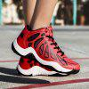 New Men'S Red Leather Casual Sports Shoes - RED