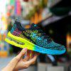 New Lady Fashionable asnd Breathable Sports Shoes - AZUL