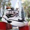 New Men for Leisure Basketball Shoes - BLACK WHITE