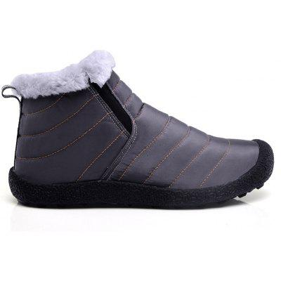 New Men'S Winter Leisure Shoes and Cashmere Long Tube