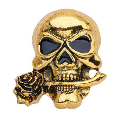 Halloween Punk Alloy Skull Pin Spilla per donna Uomo spille Party Jewelry