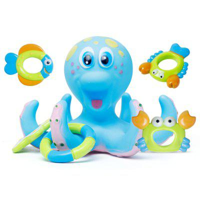 Children Toys Small Fancy Baby Bath Water Toy Octopus Loops