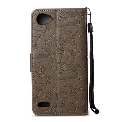 Case Cover for LG Q6 Double Sides Embossed Clouds Leather Shell with WalletCases &amp; Leather<br>Case Cover for LG Q6 Double Sides Embossed Clouds Leather Shell with Wallet<br><br>Compatible Model: LG Q6<br>Features: Cases with Stand, With Credit Card Holder<br>Material: PU Leather, TPU<br>Package Contents: 1 x Phone Case<br>Package size (L x W x H): 18.00 x 10.00 x 4.00 cm / 7.09 x 3.94 x 1.57 inches<br>Package weight: 0.1000 kg<br>Product weight: 0.0500 kg<br>Style: Vintage