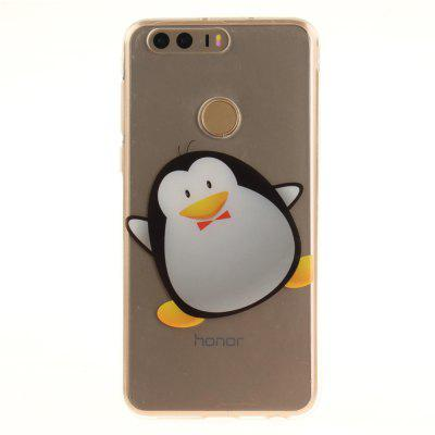 Cover Case for Huawei Honor 8 Cartoon Penguin Soft Clear IMD TPU Phone Casing Mobile SmartphoneCases &amp; Leather<br>Cover Case for Huawei Honor 8 Cartoon Penguin Soft Clear IMD TPU Phone Casing Mobile Smartphone<br><br>Compatible Model: Huawei Honor 8<br>Features: Back Cover, Anti-knock<br>Mainly Compatible with: HUAWEI<br>Material: TPU<br>Package Contents: 1 x Phone Case<br>Package size (L x W x H): 17.00 x 7.00 x 1.00 cm / 6.69 x 2.76 x 0.39 inches<br>Package weight: 0.0110 kg<br>Product Size(L x W x H): 16.00 x 6.00 x 1.00 cm / 6.3 x 2.36 x 0.39 inches<br>Product weight: 0.0100 kg<br>Style: Pattern