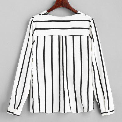 Womens Sexy V-Neck Striped Long-Sleeved ShirtBlouses<br>Womens Sexy V-Neck Striped Long-Sleeved Shirt<br><br>Collar: V-Neck<br>Elasticity: Elastic<br>Fabric Type: Worsted<br>Material: Polyester<br>Package Contents: 1 x Shirt<br>Pattern Type: Striped<br>Shirt Length: Regular<br>Sleeve Length: Long Sleeves<br>Style: Sexy<br>Weight: 0.1600kg