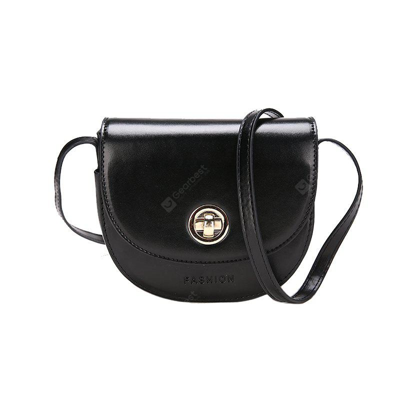 New Saddle Bag Female Buckle Shoulder Messenger Bag