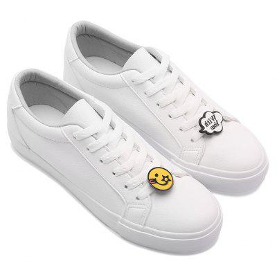 Spring 2018 New Women'S Lace-Up Casual Shoes