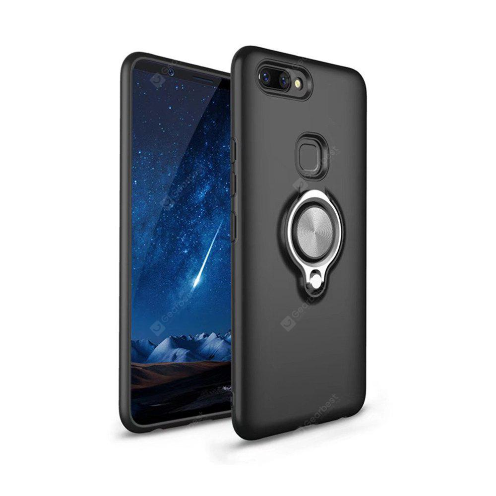 Cover Case for Vivo x 20 Shock Absorption Dual  Design Phone Ring Holder Anti-Scratch Protective