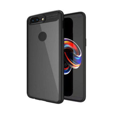 Cover Case for One Plus 5T HD Clear Acrylic PC Back Soft TPU Edge 2in1 Full Protective Shell Retail