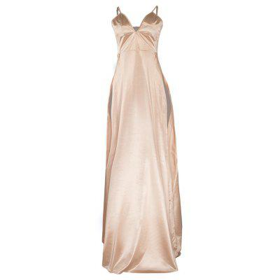 Robe longue taille fine
