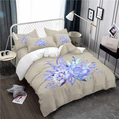Pattern Leaf Design Fresh and Comfortable High Grade BeddingBedding Sets<br>Pattern Leaf Design Fresh and Comfortable High Grade Bedding<br><br>Category: Bedding Set<br>For: All<br>Functions: Multi-functions<br>Material: Cotton, Polyester<br>Occasion: School, Bedroom<br>Package Contents: 1 x Duver Cover,2 x Pillowcases,1 x Bed Sheet<br>Package size (L x W x H): 28.00 x 25.00 x 7.00 cm / 11.02 x 9.84 x 2.76 inches<br>Package weight: 2.1500 kg
