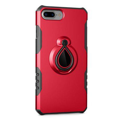 For iPhone 7 Plus / 8 Plus Case Car Holder Stand Magnetic Suction Finger Ring PC+TPU ArmoriPhone Cases/Covers<br>For iPhone 7 Plus / 8 Plus Case Car Holder Stand Magnetic Suction Finger Ring PC+TPU Armor<br><br>Compatible for Apple: iPhone 7 Plus, iPhone 8 Plus<br>Features: Cases with Stand, Anti-knock<br>Material: PC, TPU<br>Package Contents: 1 x Phone Case<br>Package size (L x W x H): 17.00 x 8.00 x 1.00 cm / 6.69 x 3.15 x 0.39 inches<br>Package weight: 0.0650 kg<br>Style: Cool