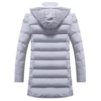 Cotton Fashion Slim Leisure CoatMens Jackets &amp; Coats<br>Cotton Fashion Slim Leisure Coat<br><br>Clothes Type: Down &amp; Parkas<br>Lining Material: Polyester,Synthetic<br>Materials: Cotton Blend<br>Package Content: 1?coat<br>Package size (L x W x H): 1.00 x 1.00 x 1.00 cm / 0.39 x 0.39 x 0.39 inches<br>Package weight: 1.3000 kg<br>Size1: M,L,XL,2XL,3XL