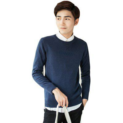 Casual Fashion Slim SweaterMens Sweaters &amp; Cardigans<br>Casual Fashion Slim Sweater<br><br>Collar: Round Neck<br>Material: Polyester<br>Package Contents: 1 x Sweater<br>Package size (L x W x H): 1.00 x 1.00 x 1.00 cm / 0.39 x 0.39 x 0.39 inches<br>Package weight: 0.6300 kg<br>Size1: M,L,2XL,3XL<br>Sleeve Length: Full<br>Type: Cardigans