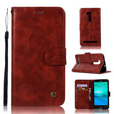 Vintage Fashion Flip Leather Case PU Wallet Cover Case For ASUS ZenFone Go ZB551KL / Go TV G550KL 5.5 Phone Bag with Stand