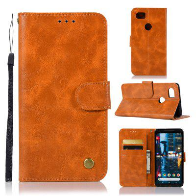 Luxurious Retro Fashion Flip Leather Case PU Wallet Cover Cases For Google Pixel 2 XL Smart Cover Phone Bag with Stand