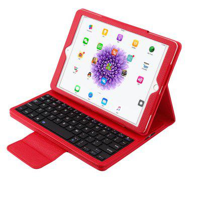 Detachable Wireless Bluetooth Keyboard for iPad Air/Air 2/Pro9.7 inch 360 Degree Swivel Leather Case Stand Coveripad Keyboards<br>Detachable Wireless Bluetooth Keyboard for iPad Air/Air 2/Pro9.7 inch 360 Degree Swivel Leather Case Stand Cover<br><br>Battery Capacity (mAh): 350<br>Features: 360 rotatable, Cases with Keyboard, Keyboards<br>Mainly Compatible with: iPad Air (iPad 5), iPad Pro 9.7 inch, iPad Air 2<br>Material: Leather<br>Package Contents: 1 x Keyboard,1 x Case<br>Package size (L x W x H): 27.00 x 19.00 x 3.30 cm / 10.63 x 7.48 x 1.3 inches<br>Package weight: 0.6430 kg