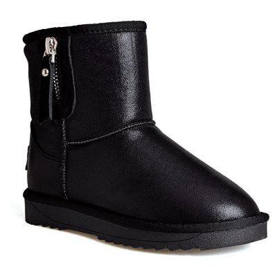 New Shoes Donna Big Size Flat Heel Comfort Snow Boots Dolce