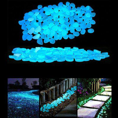 100 Pcs Romantic Night Blue Luminous Artificial Stones Set Home Garden DecorationCrafts<br>100 Pcs Romantic Night Blue Luminous Artificial Stones Set Home Garden Decoration<br><br>Material: Plastic<br>Package Contents: 100 x Stones<br>Package size (L x W x H): 12.00 x 12.00 x 3.00 cm / 4.72 x 4.72 x 1.18 inches<br>Package weight: 0.3000 kg<br>Product size (L x W x H): 2.50 x 2.00 x 1.50 cm / 0.98 x 0.79 x 0.59 inches<br>Product weight: 0.2800 kg<br>Subjects: Fashion,Cute,Botanical,Landscape,Architecture<br>Usage: Party, Wedding, Birthday, Christmas, New Year