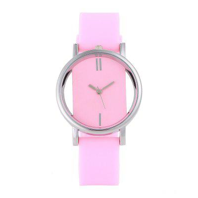 REEBONZ New Arrive Simple Women Hollow Transparent Silicone Quartz WatchWomens Watches<br>REEBONZ New Arrive Simple Women Hollow Transparent Silicone Quartz Watch<br><br>Band material: Silicone<br>Band size: 23 x 1.8cm<br>Case material: Alloy<br>Dial size: 3.8 x 3.8 x 0.8cm<br>Display type: Analog<br>Movement type: Quartz watch<br>Package Contents: 1 x Watch<br>Package size (L x W x H): 26.00 x 5.50 x 1.00 cm / 10.24 x 2.17 x 0.39 inches<br>Package weight: 0.0350 kg<br>Product size (L x W x H): 26.00 x 3.80 x 0.80 cm / 10.24 x 1.5 x 0.31 inches<br>Product weight: 0.0300 kg<br>Shape of the dial: Round<br>Watch mirror: Mineral glass<br>Watch style: Fashion, Classic, Business, Lovely, Jewellery, Casual<br>Watches categories: Women<br>Water resistance: No