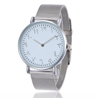 Geneva Fashion Ultrathin Personality Number Alloy Mesh Quartz WatchWomens Watches<br>Geneva Fashion Ultrathin Personality Number Alloy Mesh Quartz Watch<br><br>Band material: Stainless Steel<br>Band size: 24 x 2cm<br>Case material: Zinc Alloy<br>Clasp type: Pin buckle<br>Dial size: 4 x 4 x 0.6cm<br>Display type: Analog<br>Movement type: Quartz watch<br>Package Contents: 1 x Watch<br>Package size (L x W x H): 26.00 x 6.00 x 1.00 cm / 10.24 x 2.36 x 0.39 inches<br>Package weight: 0.0500 kg<br>Product size (L x W x H): 24.00 x 4.00 x 0.60 cm / 9.45 x 1.57 x 0.24 inches<br>Product weight: 0.0450 kg<br>Shape of the dial: Round<br>Watch mirror: Mineral glass<br>Watch style: Classic, Business, Fashion, Casual<br>Watches categories: Women,Men<br>Water resistance: No