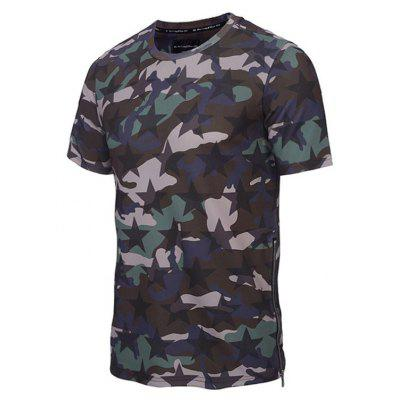 Fashion Casual Personality Trend Star Camouflage 3D Printed Short-Sleeve T-ShirtMens T-shirts<br>Fashion Casual Personality Trend Star Camouflage 3D Printed Short-Sleeve T-Shirt<br><br>Collar: Round Neck<br>Material: Polyester<br>Package Contents: 1xT-shirt<br>Pattern Type: Print<br>Sleeve Length: Short Sleeves<br>Style: Fashion<br>Weight: 0.2000kg