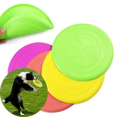 Dog Supplies Silicone Pet Soft light  Training  Pet Dog Toys