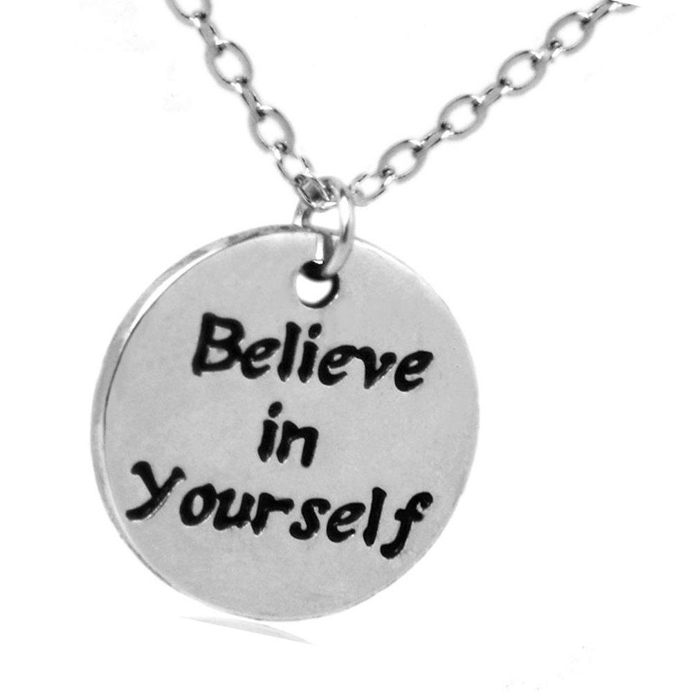 Hot Sale Sterling Silver Necklace Fitness Jewelry Charm Pendant