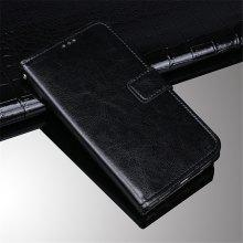 Crazy Horse Texture Retro PU Leather Case for Elephone P8 Mini with Card Slots