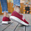 New Spring and Summer Breathable Sports Pedal Travel Running Shoes - CLARET