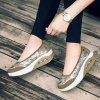 The New Large-Size Thick Cake Sponge Sequin Chinese Style Shoes - GOLDEN