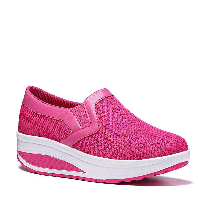free shipping best wholesale cheap sale 2014 unisex New Large Size Breathable Lady Solid Color Carrefour Shoes - Cerulean 41 cheap new styles buy cheap latest collections cheapest price online mu7dKQ