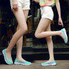 The New Flat Light Casual Breathable Hollow Lace Women'S Shoes - CHAMBRAY