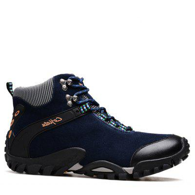 New Men'S Leather Hiking Hiking Shoes