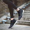 New Men'S Net Cloth Breathable Sports Shoes - BLACK
