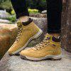 New Men'S Winter Plush High-Barrel Casual Shoes - LIGHT BROWN