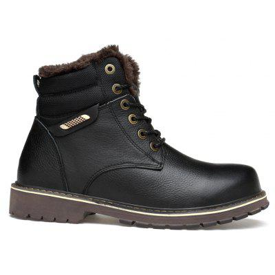 New Men Cashmere Winter Leisure Boots