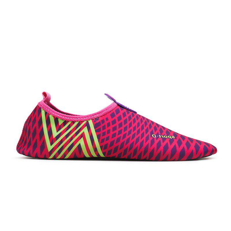 New Classic Grid Striped Swimming Yoga Shoes